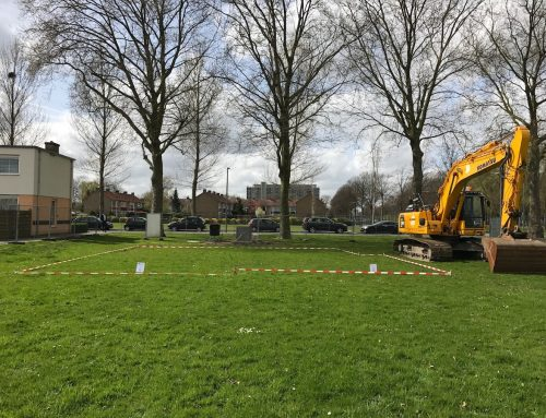 6 april 2017 – Bouw van 18 eengezinswoningen Parkzicht (Rotterdam) officieel gestart