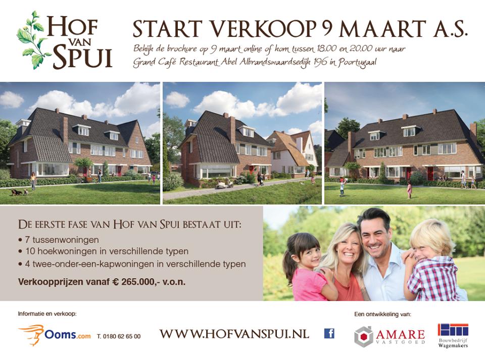 start verkoop Hof van Spui
