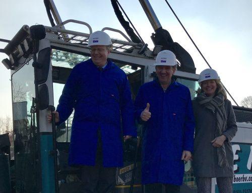 22 februari 2018 – Bouw Groot Goed (Ridderkerk) officieel gestart