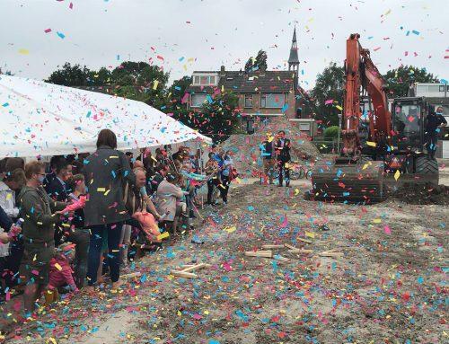 15 juni 2018 – Bouw van 21 woningen Hof van Spui (Rhoon) officieel gestart